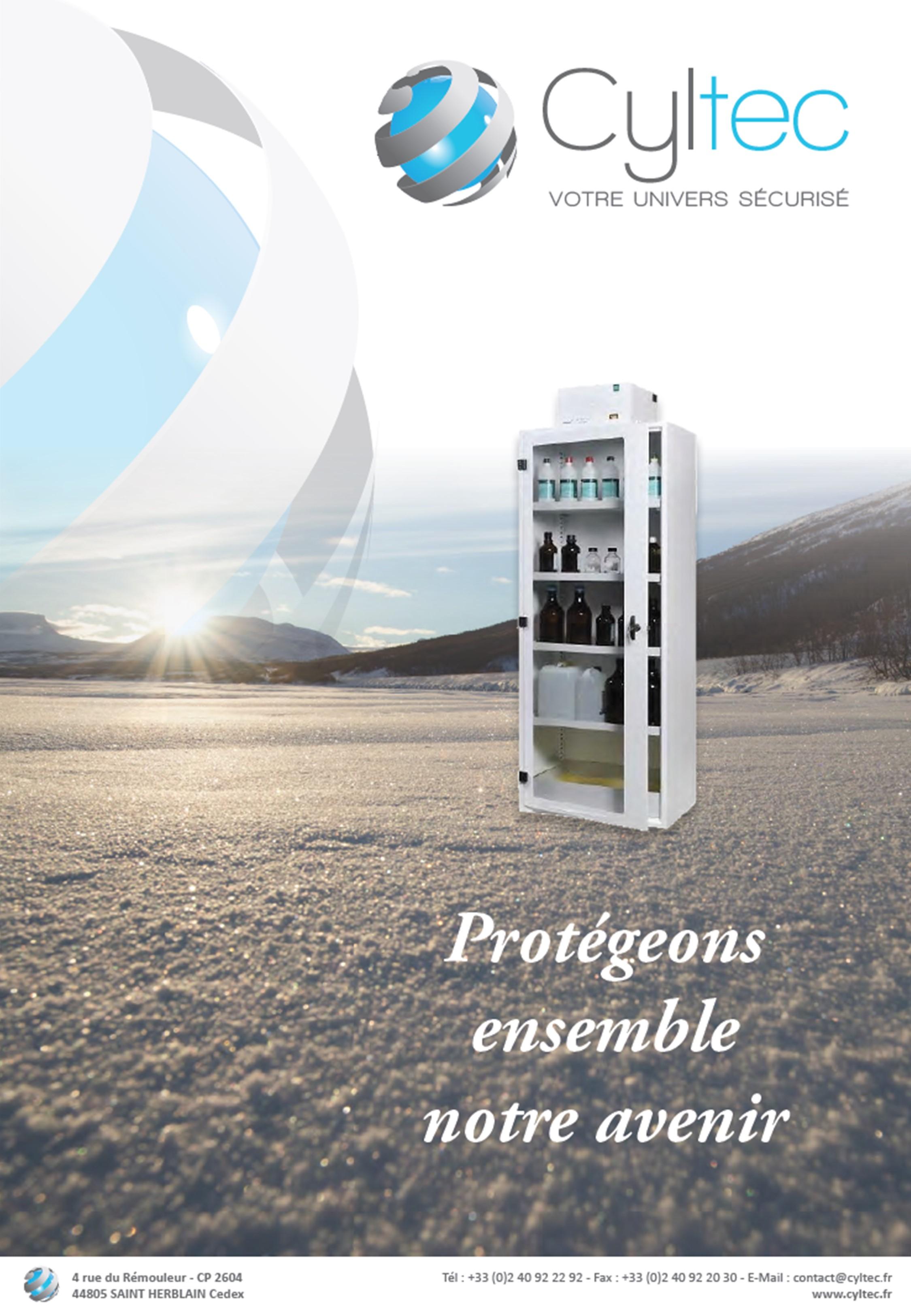 Catalogue Cyltec - Armoires de Sureté et de Sécurité conformes à la norme EN 14470-1